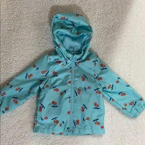 Light weight infant rain jacket